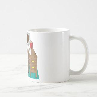 Man at Desk Coffee Mug