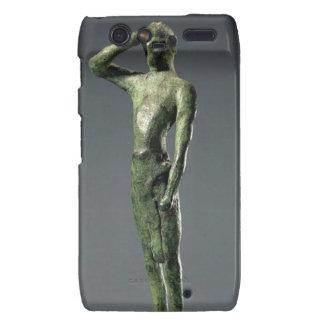Man at prayer, Archaic Greek bronze sculpture some Droid RAZR Cover