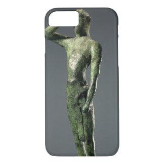 Man at prayer, Archaic Greek bronze sculpture some iPhone 7 Case
