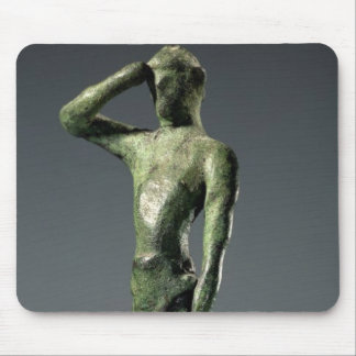 Man at prayer, Archaic Greek bronze sculpture some Mouse Pad