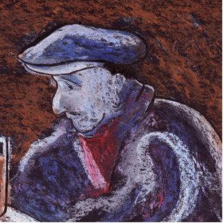 MAN AT THE BAR CUTOUT