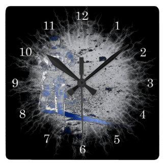 Man at the moon Wall Clock