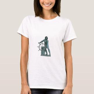 Man at the Wheel Logo T-Shirt