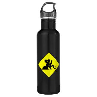Man at Work 24oz Water Bottle