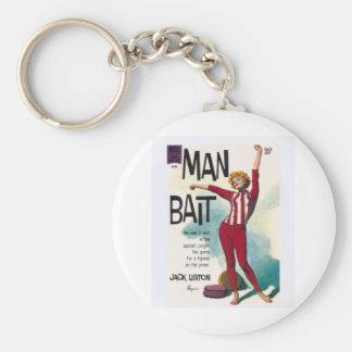 Man Bait! Basic Round Button Keychain