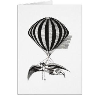 Man & Balloon Card