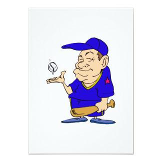Man bat & Ball Card
