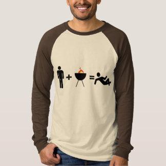 man + BBQ = Chillin T-Shirt