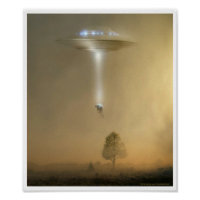 Man Being Abducted Poster