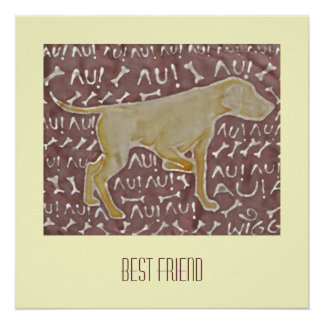 Man best friend poster
