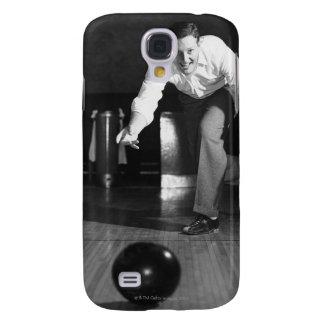Man Bowling Samsung Galaxy S4 Cases