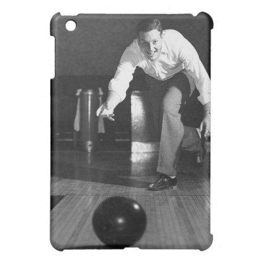Man Bowling iPad Mini Case