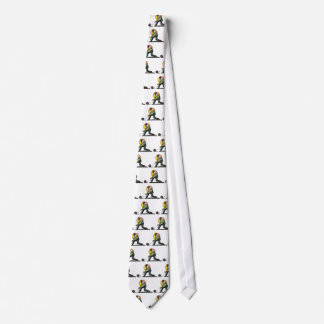 Man Bowling Neck Tie