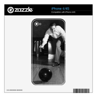 Man Bowling Skin For iPhone 4