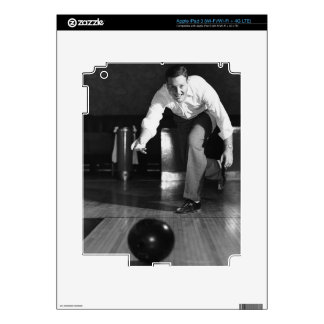 Man Bowling Skins For iPad 3