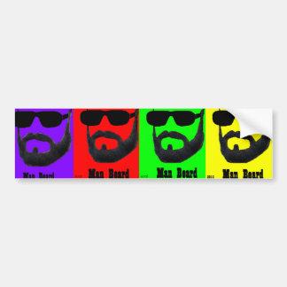 Man Bread Bumper Sticker by: da'vy Car Bumper Sticker