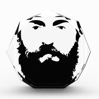 Man Bun Monday Acrylic Award