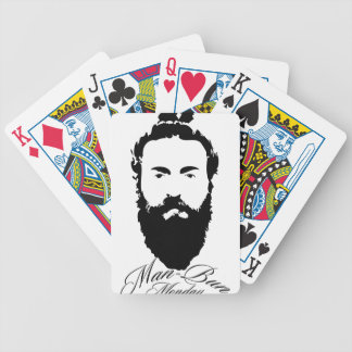 Man Bun Monday Bicycle Playing Cards