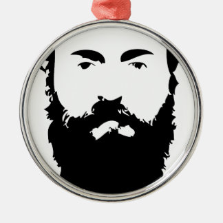 Man Bun Monday Metal Ornament