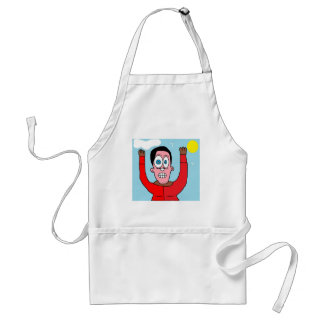 Man Busted Adult Apron