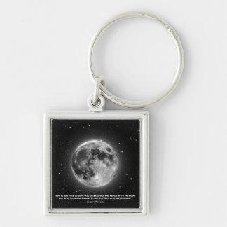 Man Can Reach The Moon Keychain