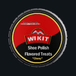 """&quot;Man Candy&quot; shoe polish treats Jelly Belly Candy Tin<br><div class=""""desc"""">Tough guys will enjoy this &quot;Shoe Polish Flavored&quot; candy treat,  in a container reflecting a popular brand of shoe polish. It actually contains tasty and edible candy with normal flavors. Great as a gag gift for the macho man or anyone with a sense of humor.</div>"""