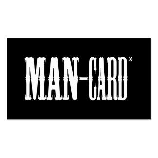 Man Card Double-Sided Standard Business Cards (Pack Of 100)
