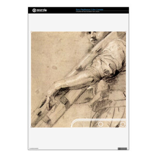Man carrying a ladder by Paul Rubens PS3 Slim Console Skins
