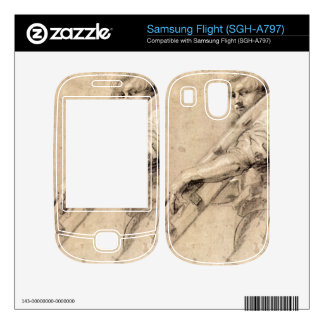 Man carrying a ladder by Paul Rubens Skins For Samsung Flight