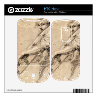 Man carrying a ladder by Paul Rubens Skins For HTC Hero