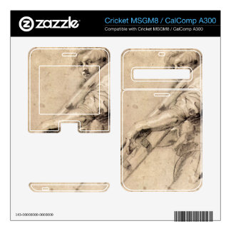 Man carrying a ladder by Paul Rubens Cricket MSGM8 Decals