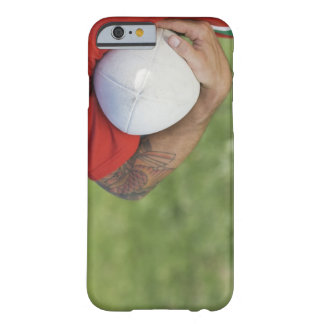Man carrying rugby ball barely there iPhone 6 case