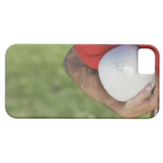 Man carrying rugby ball iPhone SE/5/5s case