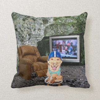 Man Cave American MoJo Pillow Throw Pillow