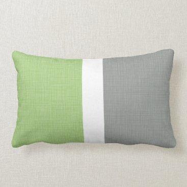 Beach Themed Man Cave Beach Faux Linen New Home Gift Gray Lumbar Pillow