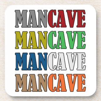 Man Cave Beverage Coaster