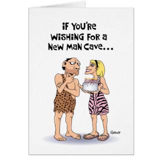 Man Cave Birthday Greeting Cards
