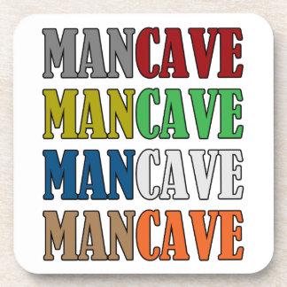 Man Cave Drink Coasters
