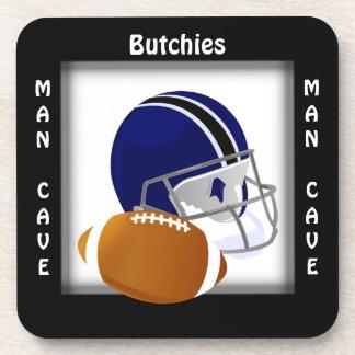 Man Cave CUSTOMIZE  Football Coaster