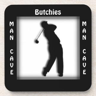 Man Cave CUSTOMIZE  Golf Coaster