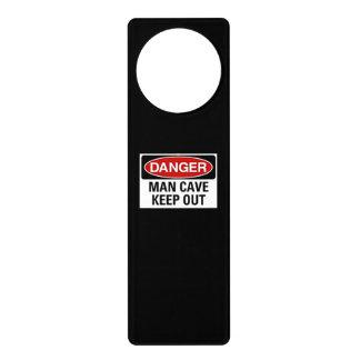 Man cave door knob sign door knob hanger