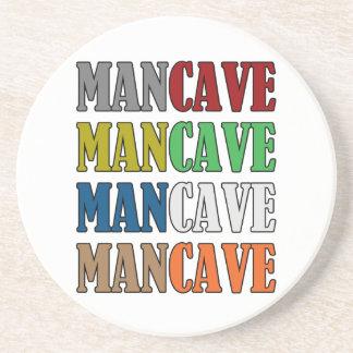 Man Cave Drink Coaster