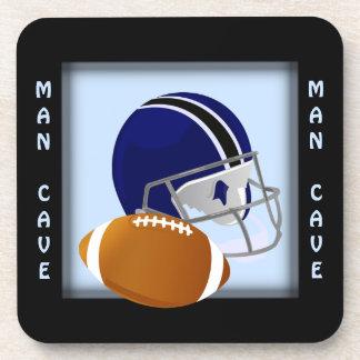 Man Cave Football Coaster