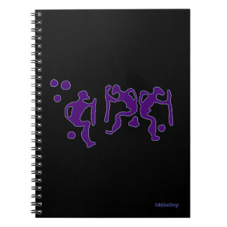 Man Cave Ideas Cool Prehistoric Shamanic Dancers Notebook