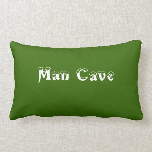 Man Cave Pillows : Man cave lumbar pillow zazzle
