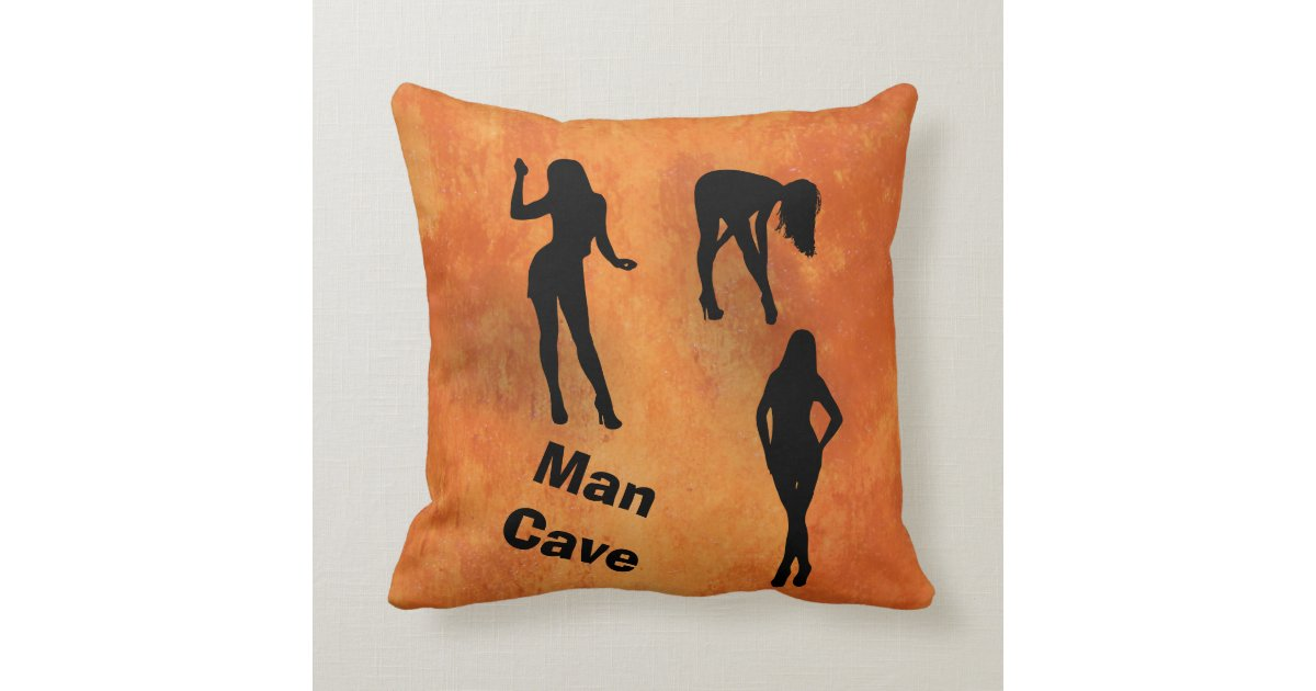 Man Cave Pillows : Man cave pillow zazzle