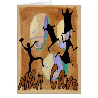 Man Cave Sign 2 Card