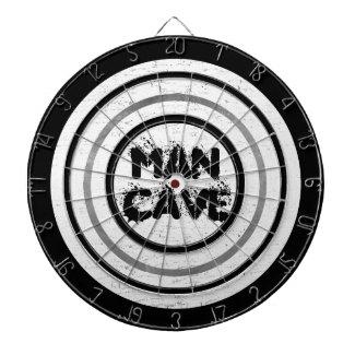 Man Cave White Wood Regulation Dart Board