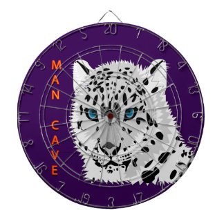 Man cave with a Leopard Dart Board