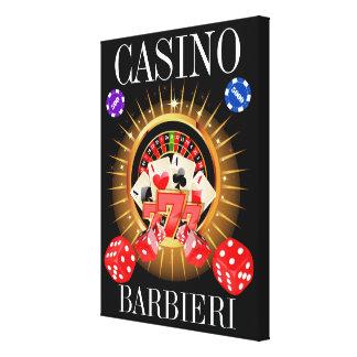 Man Cave Your Casino Canvas Art